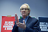 Ken Loach, director of Cathy Come Home launches Left Unity's 2015 manifesto in a Soho squat in Ingestre Court, Ingestre Place, Soho, London, Great Britain <br /> 31st March 2015 <br /> <br /> <br /> Ken Loach <br /> <br /> Photograph by Elliott Franks <br /> Image licensed to Elliott Franks Photography Services