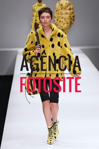 Milao, Italia &ndash; 02/2014 - Desfile de Moschino durante a Semana de moda de Milao - Inverno 2014.&nbsp;<br /> Foto: FOTOSITE