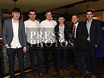 Damian McConnon, Brian Rooney, Gavin Douglas, Craig Keenan, Lee Martin and Mark Gorman at St Mary's GFC awards dinner in Muldoons. Photo:Colin Bell/pressphotos.ie