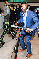 LAS VEGAS, NV - JANUARY 11: Ray J seen at CES 2018 in Las Vegas, Nevada on January 11, 2018. Credit: Damairs Carter/MediaPunch