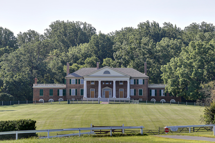 Former president James Madison's Montpelier Estate in Orange, Va. Photo/Andrew Shurtleff
