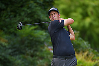 Adam Scott (AUS) watches his tee shot on 13 during round 2 of the 2019 Tour Championship, East Lake Golf Course, Atlanta, Georgia, USA. 8/23/2019.<br /> Picture Ken Murray / Golffile.ie<br /> <br /> All photo usage must carry mandatory copyright credit (© Golffile | Ken Murray)