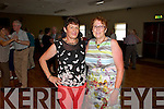Pictured at the Tea Dance in aid of Fr. Tim Galvin's missions in South Sudan on Sunday which took place in Fr. Casey's GAA Clubhouse were L-R Breda Murphy and Ita Hartnett, Abbeyfeale.