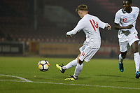 James Hardy Of England C and AFC Fylde `shoots during England C vs Estonia Under-23, International Friendly Match Football at The Breyer Group Stadium on 10th October 2018