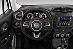 Car pictures of steering wheel view of a2015 JEEP Renegade Sport 5 Door Suv Steering Wheel