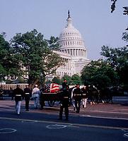 Washington DC., USA, June 10, 2004<br /> State funeral for President Ronald Reagan. Credit: Mark Reinstein/MediaPunch