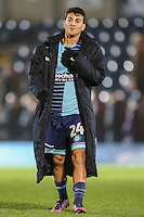 Goalscrorer Scott Kashket of Wycombe Wanderers during the Sky Bet League 2 match between Wycombe Wanderers and Leyton Orient at Adams Park, High Wycombe, England on 17 December 2016. Photo by David Horn / PRiME Media Images.
