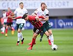 FussballFussball: agnph001:  1. Bundesliga Saison 2019/2020 27. Spieltag 23.05.2020<br /> SC Freiburg - SV Werder Bremen<br /> Vincenzo Grifo (Freiburg links) gegen Kevin Vogt (Bremen rechts)<br /> FOTO: Markus Ulmer/Pressefoto Ulmer/ /Pool/gumzmedia/nordphoto<br /> <br /> Nur für journalistische Zwecke! Only for editorial use! <br /> No commercial usage!