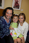 Constantine Maroulis (with his partner Angel and daughter Malena James (Bold and The Beautiful - American Idol) . He sang This is the Moment at Loukoumi & Friends Concert held on June 23, 2014 at the Scholastic Theatre, New York City, New York.  Proceeds will benefit The Loukoumi Make a Difference Foundation. Foundation first project will be the Make A Difference with Loukoumi television special airing on FOX stations Oct 19-20. (Photo by Sue Coflin/Max Photos)
