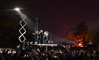 SAN FRANCISCO, CALIFORNIA - AUGUST 09: The Lumineers perform during the 2019 Outside Lands music festival at Golden Gate Park on August 09, 2019 in San Francisco, California. Photo: imageSPACE/MediaPunch<br /> CAP/MPI/ISAB<br /> ©ISAB/MPI/Capital Pictures