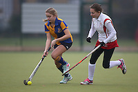 Upminster HC Ladies 3rd XI vs Basildon HC Ladies 3rd XI 10-12-16