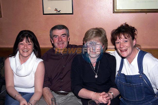 Sinead, Tommy Aileen, Yvonne McKenna Collon.Pic Fran Caffrey Newsfile.© Newsfile