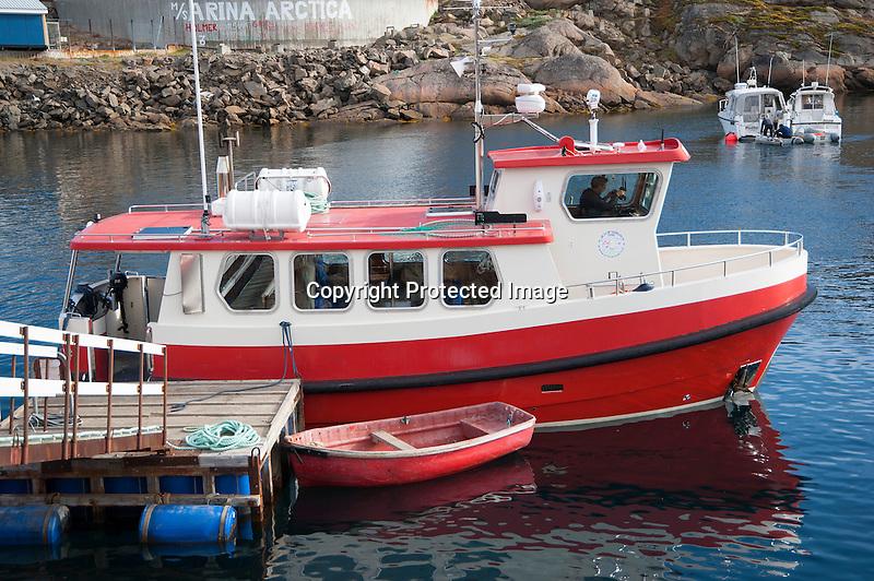 Tasiilaq Boat Greenland