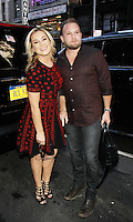 NEW YORK, NY-August 22: Kellie Pickler & Kyle Jacobs  at Today Show to talk about reality show on CMT I Love Kellie Pickler in New York. August 22, 2016. Credit:RW/MediaPunch