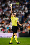 Juan Martínez Munuera FIFA Referee in action during their La Liga  2018-19 match between Real Madrid CF and Atletico de Madrid at Santiago Bernabeu on September 29 2018 in Madrid, Spain. Photo by Diego Souto / Power Sport Images