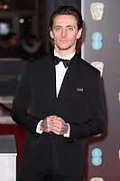 Sergei Polunin arriving for the BAFTA Film Awards 2018 at the Royal Albert Hall, London, UK. <br /> 18 February  2018<br /> Picture: Steve Vas/Featureflash/SilverHub 0208 004 5359 sales@silverhubmedia.com