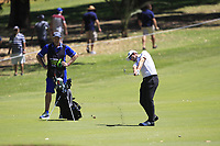 Joel Girrbach (SWI) in action on the 10th during Round 3 of the ISPS Handa World Super 6 Perth at Lake Karrinyup Country Club on the Saturday 10th February 2018.<br /> Picture:  Thos Caffrey / www.golffile.ie<br /> <br /> All photo usage must carry mandatory copyright credit (&copy; Golffile | Thos Caffrey)