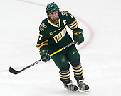 Taylor Willard (UVM - 27) -  The Boston College Eagles defeated the University of Vermont Catamounts 4-3 in double overtime in their Hockey East semi-final on Saturday, March 4, 2017, at Walter Brown Arena in Boston, Massachusetts.