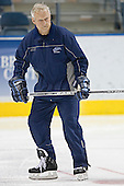 Grant Standbrook - The University of Maine Black Bears practiced on Wednesday, April 5, 2006, at the Bradley Center in Milwaukee, Wisconsin, in preparation for their April 6 2006 Frozen Four Semi-Final game versus the University of Wisconsin.