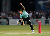Jade Dernbach bowls for Surrey during Kent Spitfires vs Surrey, Vitality Blast T20 Cricket at the St Lawrence Ground on 23rd August 2019