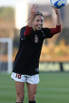 05 December 2008: Stanford's Kristy Zurmuhlen. The Notre Dame Fighting Irish defeated the Stanford Cardinal 1-0 at WakeMed Soccer Park in Cary, NC in an NCAA Division I Women's College Cup semifinal game.
