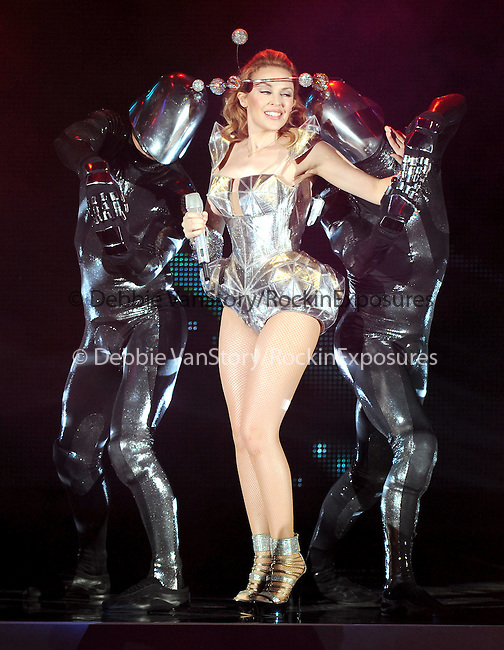 Kylie Minogue performs live during her first USA Tour- 'For You For Me Tour' performing  in Hollywood, California on October 04,2009                                                                   Copyright 2009 DVS / RockinExposures
