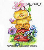 EASTER, OSTERN, PASCUA, paintings+++++,KL4569/5,#e#, EVERYDAY ,chicks,chicken