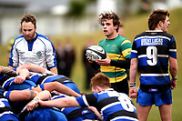 James Arscott in action during the Otago premier club rugby union match between Kaikorai and Green Island at Bishopscourt Park in Dunedin, New Zealand on Saturday, 4 July 2020. Photo: Joe Allison / lintottphoto.co.nz