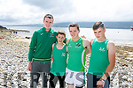 enjoying the Fenit Regatta on Sunday were Alex King, Dara Lynch, Dara O'Sullivan and Chris Scannell