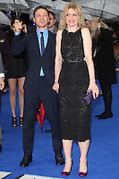 James McAvoy and Anne Marie Duff arriving the UK Premiere of 'X-Men: Days of Future Past' at Odeon Leicester Square, London. 12/05/2014 Picture by: Alexandra Glen / Featureflash