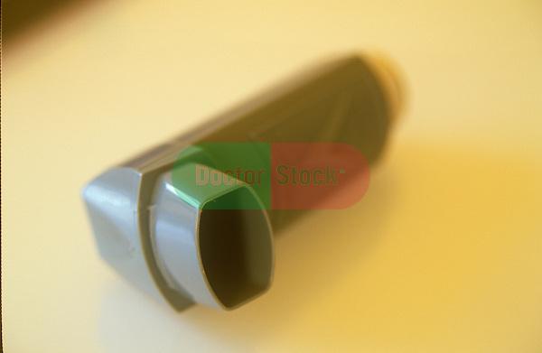 Inhaler on table