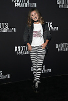 BUENA PARK, CA - SEPTEMBER 29: Shenae Grimes, at Knott's Scary Farm & Instagram's Celebrity Night at Knott's Berry Farm in Buena Park, California on September 29, 2017. Credit: Faye Sadou/MediaPunch