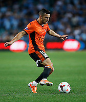 Brisbane Roar Jack Hingert during his A-League match against Sydney FC in Sydney, March 14, 2014. Photo by Daniel Munoz/VIEWPRESS EDITORIAL USE ONLY