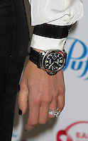 """NEW YORK, NY - SEPTEMBER 20: Close up of Giuliana Rancic's watch at the """"Do It For the Girls! """" day of action to help in the fight against breast cancer and promote breast cancer awareness at Gansevoort Park Avenue in New York City. September 20. 2012. © RW/MediaPunch Inc. /NortePhoto<br /> <br /> **Solo*venta*en*Mexico*<br /> <br /> **CREDITO*OBLIGATORIO** *No*Venta*A*Terceros*<br /> *No*Sale*So*third*..."""