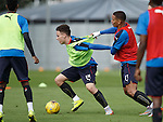 Barrie McKay tugged back by James Tavernier