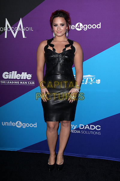 CULVER CITY, CA - February 27: Demi Lovato at the unite4:good and Variety present unite4:humanity, Sony Studios, Culver City,  February 27, 2014. <br /> CAP/MPI/JO<br /> &copy;Janice Ogata/MediaPunch/Capital Pictures