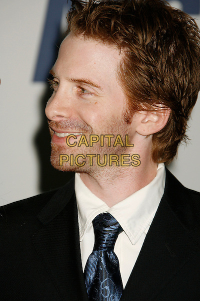 "SETH GREEN.14th Annual Race to Erase MS Themed ""Dance to Erase MS"" held at the Century Plaza Hotel, Century City, California, USA, 13 April 2007..portrait headshot profile black suit  tie .CAP/ADM/RE.©Russ Elliot/AdMedia/Capital Pictures."