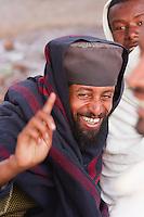Coptic Orthodox priest in Lalibela Ethiopia