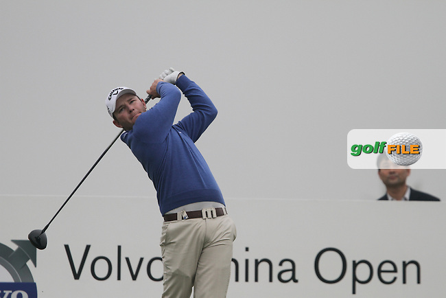 Branden Grace (RSA) on the 14th on Day 2 of the 2012 Volvo China Open at Binhai Lake Golf Club, Tianjin, China....(Photo Jenny Matthews/www.golffile.ie)