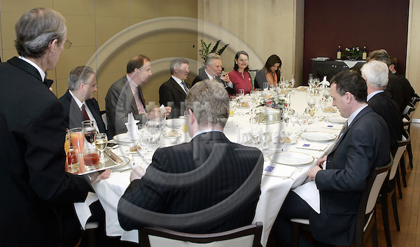 BRUSSELS - BELGIUM - 08 FEBRUARY 2005 -- Kjell Magne BONDEVIK, the Prime Minister of Norway meeting Jose Manuel DURAO BARROSO the President of the EU-Commission.  -- PHOTO: JUHA ROININEN / EUP-IMAGES