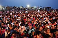 Boca del R&iacute;o, Veracruz.- El cantante de salsa, Marc Anthony, se present&oacute; en la clausura del Festival Internacional de Salsa en Boca del R&iacute;o 2013, ante m&aacute;s de 100 mil espectadores en el &quot;Salsodromo&quot;. Marc Anthony luce muy delgado y papariencia desgastada.  madrugada del 20 mayo 2013.<br /> <br /> &copy;FelRivoltta/NortePhoto
