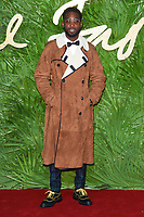 Tinie Tempah at the British Fashion Awards 2017 at the Royal Albert Hall, London, UK. <br /> 04 December  2017<br /> Picture: Steve Vas/Featureflash/SilverHub 0208 004 5359 sales@silverhubmedia.com