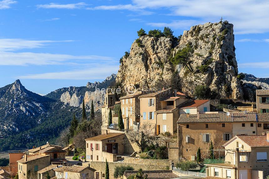 France, Vaucluse (84), La Roque-Alric,