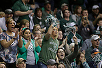 SIOUX FALLS, SD: MARCH 25:  Northwest Missouri State fans cheer during the Men's Division II Basketball Championship game against Fairmont State on March 25, 2017 at the Denny Sanford Premier Center in Sioux Falls, SD. (Photo by Dick Carlson/Inertia)