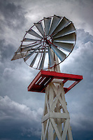 Windmill in Elk City Oklahoma, at the Farm and Ranch Museum. part of the Route 66 Museum.