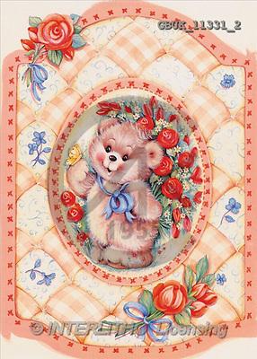Stephen, CUTE ANIMALS, paintings(GBUK11331/2,#AC#) illustrations, pinturas ,everyday