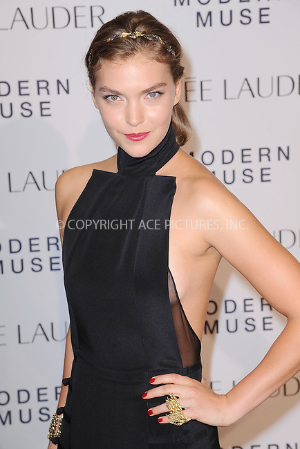 WWW.ACEPIXS.COM<br /> September 12, 2013...New York City<br /> <br /> Arizona Muse attending the Estee Lauder 'Modern Muse' Fragrance Launch Party at the Guggenheim Museum on September 12, 2013 in New York City.<br /> <br /> Please byline: Kristin Callahan/Ace Pictures<br /> <br /> Ace Pictures, Inc: ..tel: (212) 243 8787 or (646) 769 0430..e-mail: info@acepixs.com..web: http://www.acepixs.com