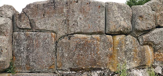 Close up pictures & Images of the wall stones of Alaca Hoyuk (Alacahoyuk) Hittite archaeological site  Alaca, Çorum Province, Turkey, Also known as Alacahüyük, Aladja-Hoyuk, Euyuk, or Evuk