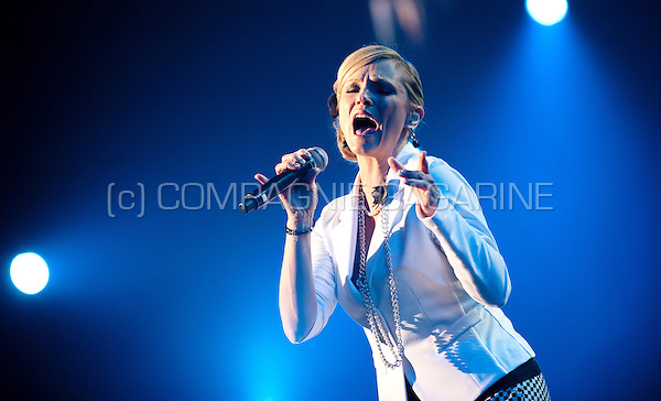 Flemish singer Laura Lynn in concert at the Schlagerfestival in Hasselt (Belgium, 31/03/2013)