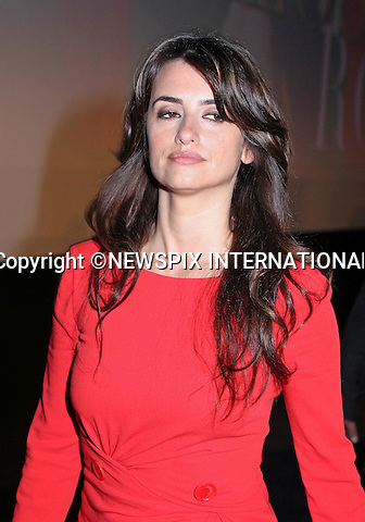 "PENELOPE CRUZ.presents Los Abrazos Rotos in Madrid_13/03/2009.Mandatory Credit Photo: ©NEWSPIX INTERNATIONAL..**ALL FEES PAYABLE TO: ""NEWSPIX INTERNATIONAL""**..IMMEDIATE CONFIRMATION OF USAGE REQUIRED:.Newspix International, 31 Chinnery Hill, Bishop's Stortford, ENGLAND CM23 3PS.Tel:+441279 324672  ; Fax: +441279656877.Mobile:  07775681153.e-mail: info@newspixinternational.co.uk"
